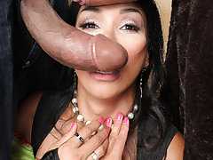 Vaniity's first THREESOME scene ever! Watch this special Halloween scene now!
